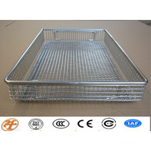 stainless steel medical mesh basket